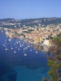 Villefranche, Alpes-Maritimes, Cote D'Azur, French Riviera, Provence, France, Mediterranean, Europe Photographic Print by Harding Robert