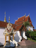 Buddhist Doi Suthep Temple, Chiang Mai, Thailand, Southeast Asia Photographic Print by Morandi Bruno