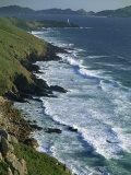 Ria De Vigo, Cape Home and the Islas Cies, of the Rias Bajas, the Lower Estuaries, Galicia, Spain Photographic Print by Maxwell Duncan