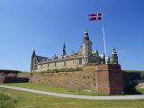 Kronborg Castle, Helsingor, Hamlet's Castle, Denmark, Scandinavia Fotografisk trykk av Harding Robert