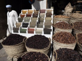 Various Spices, Dates and Teas on Sale at Aswan Souq, Aswan, Egypt, North Africa, Africa Photographic Print by Mcconnell Andrew