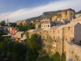 Old Town, Mostar, Herzegovina, Bosnia and Herzegovina, Balkans Photographic Print by Gavin Hellier