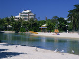 Lagoon at South Bank in Brisbane, Queensland, Australia, Pacific Photographic Print by Mawson Mark