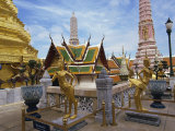 Grand Palace, Bangkok, Thailand, Southeast Asia Photographic Print by Harding Robert