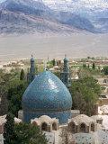 Shrine of Shah Nematulla Vali, Mahan, Iran, Middle East Photographic Print by Harding Robert