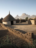 Homes Lie in the Shadow of Taka Mountain in the Town of Kassala, Sudan, Africa Photographic Print by Mcconnell Andrew