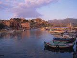 Harbour, Molyvos, Lesbos, Greek Islands, Greece, Europe Photographic Print by Lightfoot Jeremy
