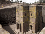 Rock-Hewn Church of Bet Giyorgis, in Lalibela, Ethiopia Photographic Print by Mcconnell Andrew
