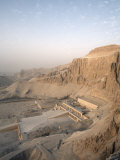 Deir Al Bahri, Funerary Temple of Hatshepsut, Valley of the Kings, Thebes, Egypt Photographic Print by Mcconnell Andrew