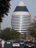 5-Star Boji Al-Fateh Hotel, Designed to Represent a Sail, Khartoum, Sudan Photographic Print by Mcconnell Andrew