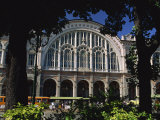 Front of City's Rail Station, Stazione Porta Nova, Turin, Piemonte, Italy, Europe Photographic Print by Maxwell Duncan
