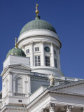 Close Up of the Lutheran Cathedral in Senate Square, Helsinki, Finland, Scandinavia, Europe Photographic Print by Kelly Michael