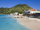 Beach at Grand-Case on the French Side, St. Martin, Leeward Islands, West Indies, Caribbean Photographic Print by Gavin Hellier