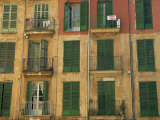 Shuttered Windows, Palma, Mallorca, Balearic Islands, Spain, Europe Photographic Print by Miller John