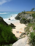 South Coast Beach, Bermuda, Central America, Mid Atlantic Photographic Print by Harding Robert