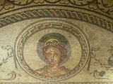 Mosaic of Venus, Bignor Roman Villa, West Sussex, England, United Kingdom, Europe Photographic Print by Miller John