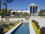 Tomb of Saadi, Shiraz, Iran, Middle East Photographic Print by Harding Robert