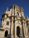 Cathedral in the Piazza Del Duomo, Syracuse, Sicily, Italy, Europe Photographic Print by Levy Yadid