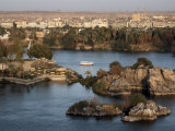 Overlooking the River Nile at the Southern City of Aswan, Egypt, North Africa, Africa Photographic Print by Mcconnell Andrew