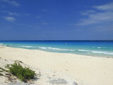 Beach, Cancun, Yucatan, Mexico, North America Photographic Print by Miller John