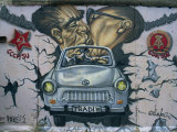 East Side Gallery, Remains of the Berlin Wall, Berlin, Germany, Europe Photographic Print by Morandi Bruno