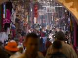 Souq at the Medina, Marrakesh, Morocco. North Africa, Africa Photographic Print by Levy Yadid