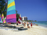 Cable Beach, Nassau, Bahamas, West Indies, Central America Photographic Print by Lightfoot Jeremy
