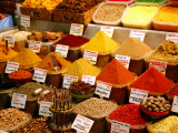 Spice Shop at the Spice Bazaar, Istanbul, Turkey, Europe Photographic Print by Levy Yadid
