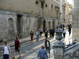 People Walking by the Main Street in Noto, Sicily, Italy, Europe Photographic Print by Levy Yadid