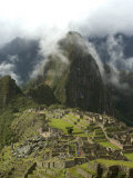 Machu Picchu, UNESCO World Heritage Site, Peru, South America Photographic Print by McCoy Aaron
