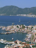 Low Aerial View over the Harbour and Town of Marmaris, Anatolia, Turkey Minor, Eurasia Photographic Print by Lightfoot Jeremy