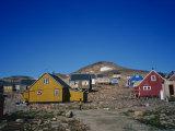 Ittoqqortoormiit, East Greenland, Greenland, Polar Regions Photographic Print by Lomax David