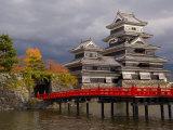 Matsumoto-Jo, Matsumoto, Nagano Prefecture, Central Honshu, Japan Photographic Print by Gavin Hellier