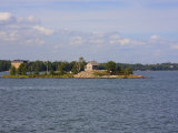 Island Cottage in Helsinki Harbour, Helsinki, Finland, Scandinavia, Europe Photographic Print by Kelly Michael