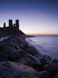 Reculver Towers, Kent, England, United Kingdom, Europe Fotografisk trykk av Miller John