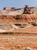 Mexican Hat Rock in Mexican Hat, Utah, United States of America, North America Photographic Print by Kober Christian