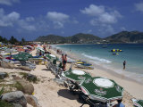 Orient Beach, St. Maarten, Leeward Islands, French West Indies, Caribbean Photographic Print by Mawson Mark