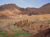Kasbah Fortified Village, Dades Valley, Tamnalt Region, Morocco, North Afirca, Africa Photographic Print by Maxwell Duncan