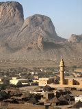 Taka Mountains and the Town of Kassala, Sudan, Africa Photographic Print by Mcconnell Andrew