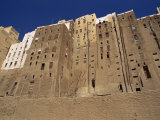 Backs of Mud Brick Houses and Toilets, Shibam, Wadi Hadramaut, Yemen, Middle East Photographic Print by Jackson Jack