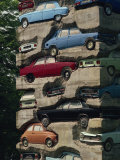 Long Term Parking, Arman 1982, Fondation Cartier at Jouy-En-Josas, Ile De France, France, Europe Photographic Print by Hart Kim