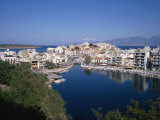 Agios Nikolas, Crete, Greece, Europe Photographic Print by Harding Robert