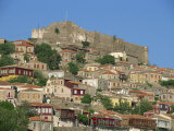 Town and Castle on the Skyline at Molyvos, on Lesbos, North Aegean Islands, Greece Photographic Print by Lightfoot Jeremy