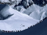 Vallee Blanche, Mont Blanc, Chamonix, Rhone Alpes, France Photographic Print by Hart Kim