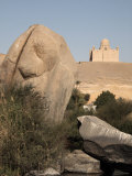 River Nile and the Mausoleum of Aga Khan, Aswan, Egypt, North Africa, Africa Photographic Print by Mcconnell Andrew