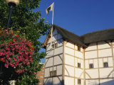 Exterior of the Restored Globe Theatre, London, England, United Kingdom, Europe Photographic Print by Mawson Mark