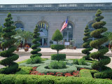 Topiary in the United States Botanic Gardens in Washington D.C., USA Photographic Print by Hodson Jonathan