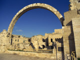 Arch of the Hurva Synagogue in the Jewish Quarter of the Old City of Jerusalem, Israel, Middle East Photographic Print by Simanor Eitan