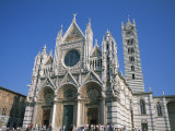 Cathedral in Siena, UNESCO World Heritage Site, Tuscany, Italy, Europe Photographic Print by Rainford Roy
