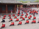 Shaolin Monastery, Shaolin, Birthplace of Kung Fu Martial Art, Henan Province, China Photographic Print by Kober Christian